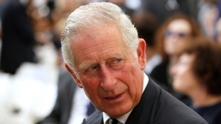 The Prince of Wales went to Israel for two major funerals in 2016.