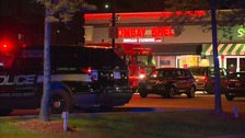 Manhunt after explosion injures 15 at Canadian restaurant
