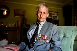 D-Day veteran Jim Booth.