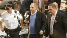 Weinstein arrives at police station to face sex assault charges