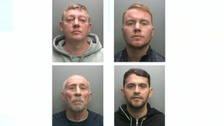 Drugs gang sentenced for £300,000 cocaine supply plot