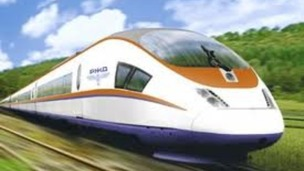 High-speed rail link