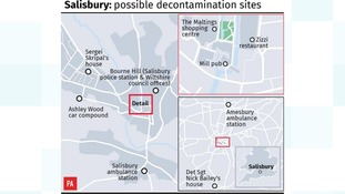 salisbury decontamination sites