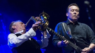 UB40 during their performance at La Mar de Musicas Festival