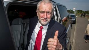 Labour leader Jeremy Corbyn visits Irish border areas