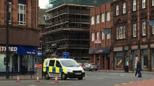 The building has closed the Victoria Viaduct for more than three weeks