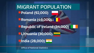 Romania is now the second most-common non-British nationality in East Anglia.