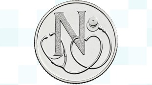 NHS coin
