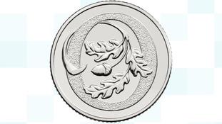 Oak tree coin