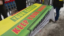 The RMT union is staging its second of two 24-hour bouts of industrial action this week.