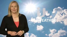 Kate Haskell has the bank holiday weather