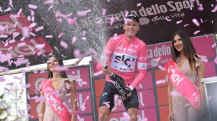 Froome set to become first Briton to win Giro d'Italia after retaining pink jersey after Stage 20