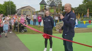 Rugby legend Gregor Townsend opens £290,000 play park in Galashiels