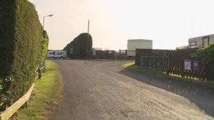 The scene of the incident in Dunstan