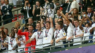 Fulham are promoted to the Premier League after beating Aston Villa in the Championship Playoff Final at Wembley