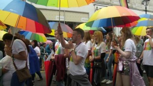Birmingham Pride kicked off with a colourful parade.