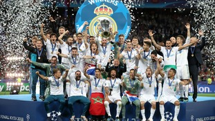 Real Madrid win the Champions League after defeating Liverpool in Kiev