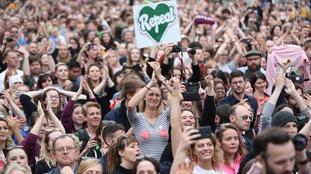 Ireland overwhelmingly backs abortion reform in landslide referendum