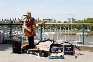 London looks set to introduce contactless busking.