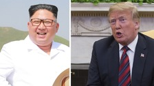 Donald Trump: North Korea summit talks 'going very well'