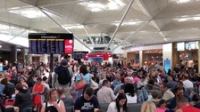Lightning strike grounds flights at Stansted