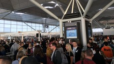 Lightning strike disrupts Stansted flights