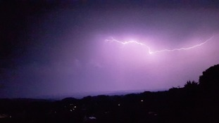 Lightning storm in pictures- your images from across the south