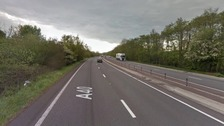 Driver dies following collision on A40 in Monmouth