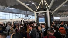 Stansted flights disrupted after lightning
