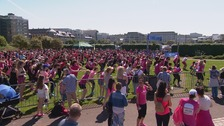 Hundreds of Channel Islanders take part in Race for Life