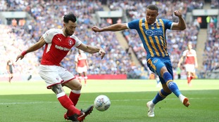 Shrewsbury Town's fifth visit to Wembley was unfortunate today.