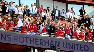 Rotherham lift trophy
