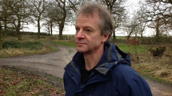 Stephen Briggs says his woodland will be destroyed by HS2