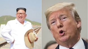 Talks are to continue over a potential summit between Trump ad Kim Jong Un.