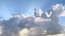 Mainly sunny, gradually becoming cloudier this afternoon