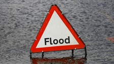 Bank holiday floods cause misery in Northampton