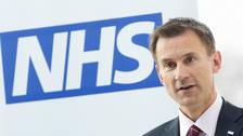 Jeremy Hunt said he is 'determined to eliminate this gap'