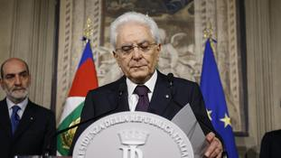Sergio Mattarella said he had repeatedly asked for a minister who would not be perceived as entertaining Italy's exit from the euro.