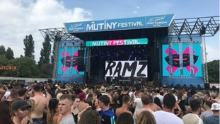 Three arrested after suspected drug deaths at Mutiny festival