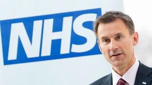 Jeremy Hunt said he is 'determined to eliminate this gap'.