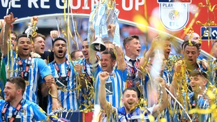 Coventry City promoted to League One after winning League Two Play Off Final at Wembley