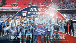 Coventry promoted to League One after play-off final win