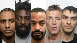 Seven people have been jailed for a total of 42 years following an investigation into the supply of class A drugs in Swindon.