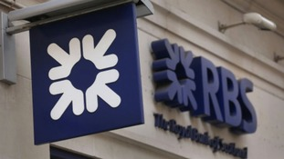 Demo against branch closures of RBS banks