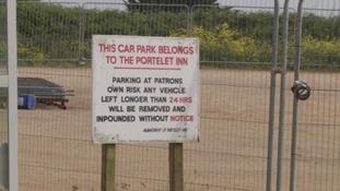 Portelet Bay car park to close temporarily