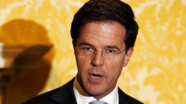 The Prime Minister of the Netherlands Mark Rutte during a visit to the UK last year