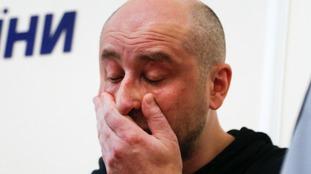 'Murdered' Russian journalist Arkady Babchenko turns up alive at news conference in Ukraine