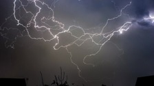 There is a yellow weather warning for more heavy rain and thunderstorms in the Anglia region.