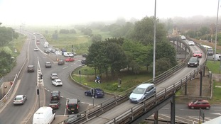 A new traffic scheme to ease congestion around the Army & Navy roundabout has local opposition.