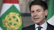 Giuseppe Conte will be sworn in on Friday